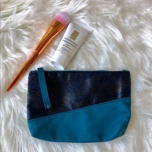 3 for $10 NWOT Ipsy Makeup Bag in Blue